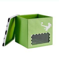 Love It Store It Box na hračky s krytem - Fotbal, Goooal, velký