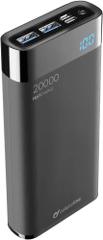 CellularLine Kompaktní powerbanka FreePower Manta HD 20000mAh, Smartphone Detect, USB-C + 2xUSB port, černá (FREEPMANTA20HDK)