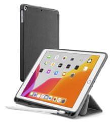 "CellularLine Apple iPad 10,2"" (2019) - FOLIO púzdro so stojanom a slotom pre stylus, čierne"