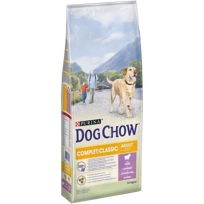 Dog Chow granule pro psy Purina Adult Lamb 14 kg