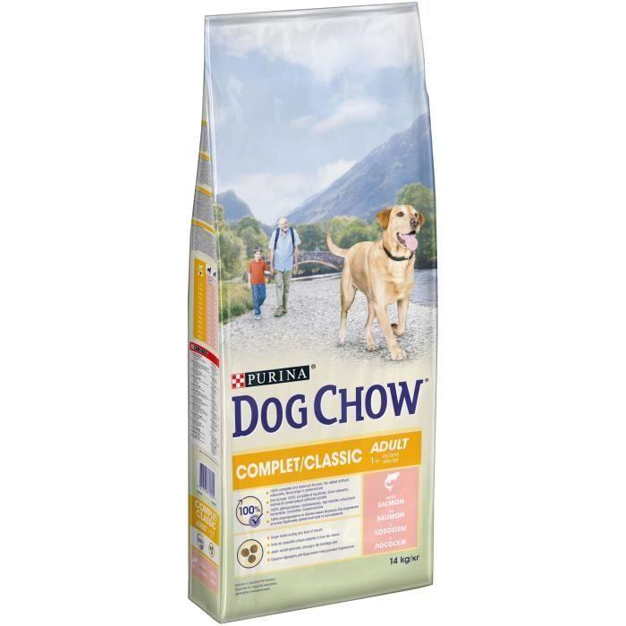 Dog Chow granule pro psy Purina Adult Salmon 14 kg
