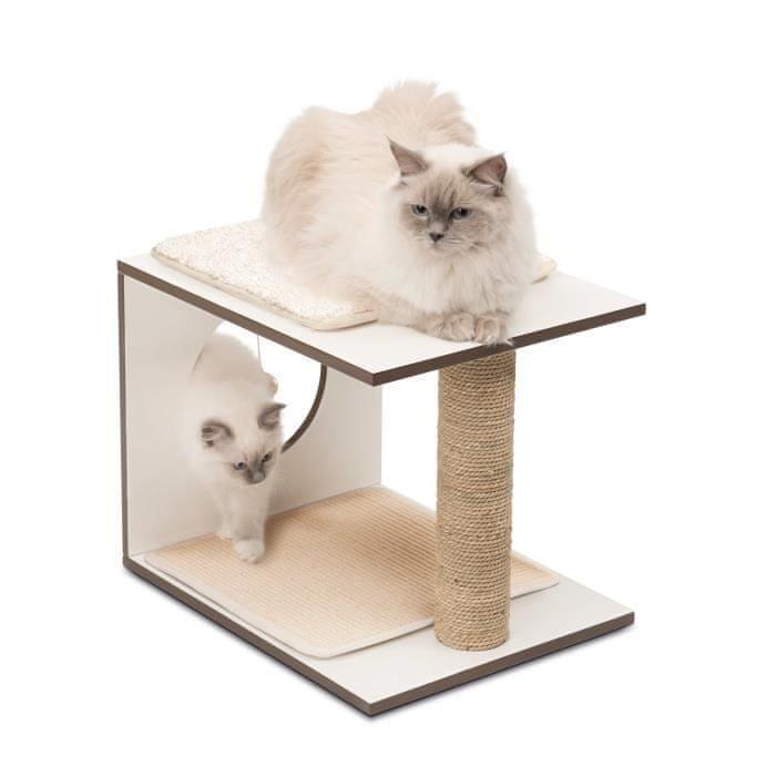Vesper hrací věž pro kočky - bílá