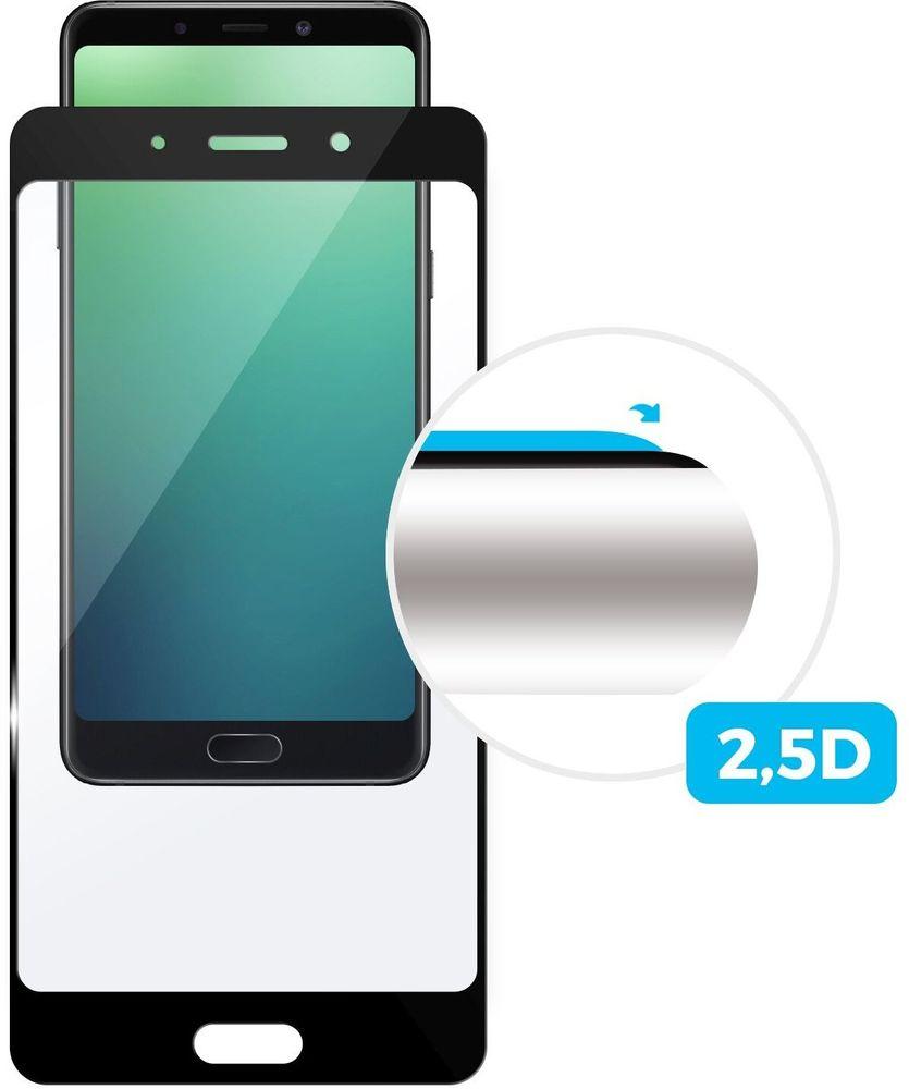FIXED Ochranné tvrzené sklo Full-Cover pro Sony Xperia 5, lepení přes celý displej, černé (FIXGFA-468-BK)