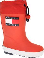 Tommy Hilfiger gyermek gumicsizma T3X6-30766-0047300, 30, piros