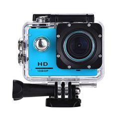 Object športna vodoodporna kamera HD 1080p, modra
