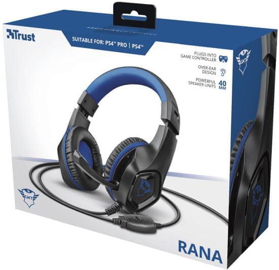 Trust słuchawki GXT 404B Rana dla PS4 (23309)