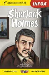 Arthur Conan Doyle: Sherlock Holmes - Zrcadlová četba (A1-A2)