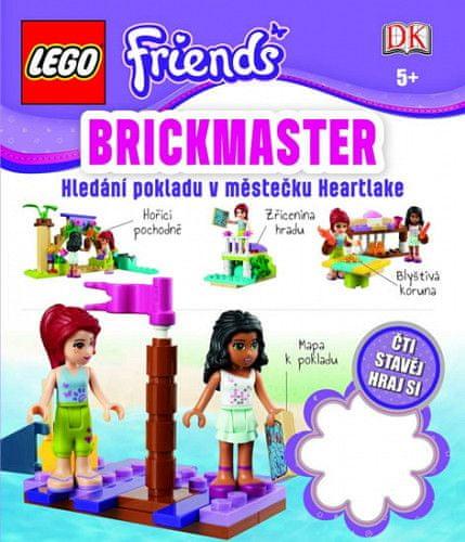 Kolektiv autorů: LEGO Friends Brickmaster - Hledání pokladu v městečku Heartlake
