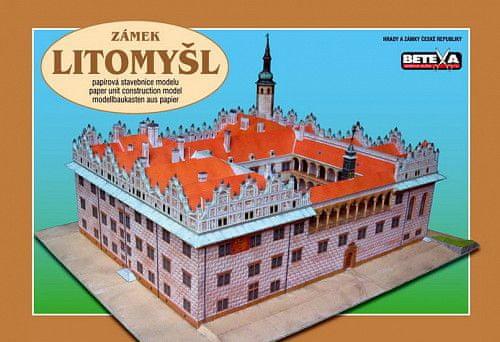 Zámek Litomyšl - vystřihovánky