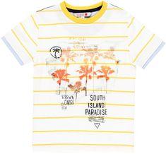 Boboli Chlapecké tričko krátký rukáv 162 bílá