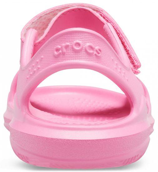 Crocs sandały dziewczęce Swiftwater Expedition K Pink Lemonade/Pink Lemonade 206267-6M3