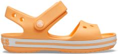 Crocs Crocband Sandal Kids Cantaloupe 12856-801 dekliški sandali, oranžni, 33–34