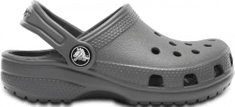 Crocs Classic Clog K SltGry 204536-0DA fantovski natikači, sivi, 24–25