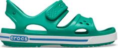Crocs Crocband II Sandal PS Deep Green/Prep Blue 14854-3TV fantovski sandali, zeleni, 34–35
