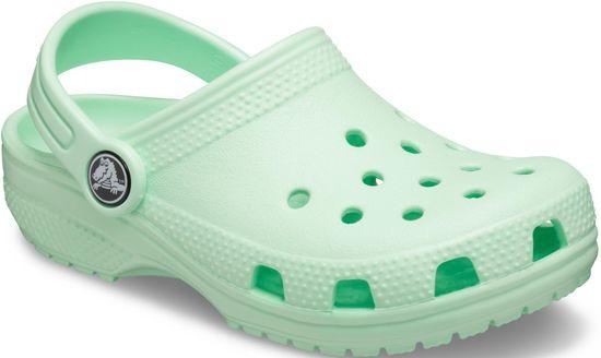 Crocs buty dziewczęce Classic Clog K Neo Mint 204536-3TI