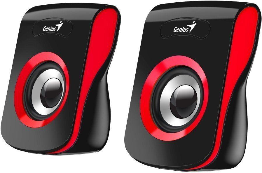 Genius SP-Q180, černá/červená (31730026401)