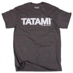 Tatami Fightwear Tričko TATAMI Fightwear ESSENTIAL CHARCOAL