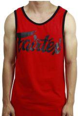 Fairtex Tílko Fairtex MTT2 - červená