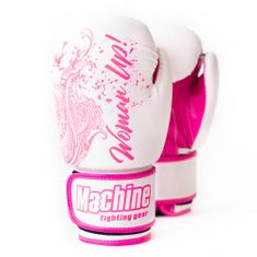 MACHINE Boxerské rukavice Machine Woman Up - bílé