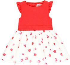 Boboli Dívčí šaty 68 červená