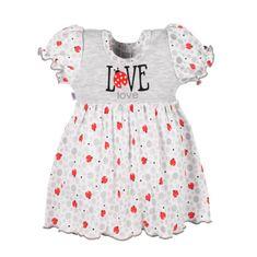 NEW BABY Kojenecké šatičky New Baby LadyBird