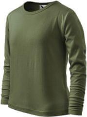 Malfini Khaki dětské tričko s dlouhým rukávem