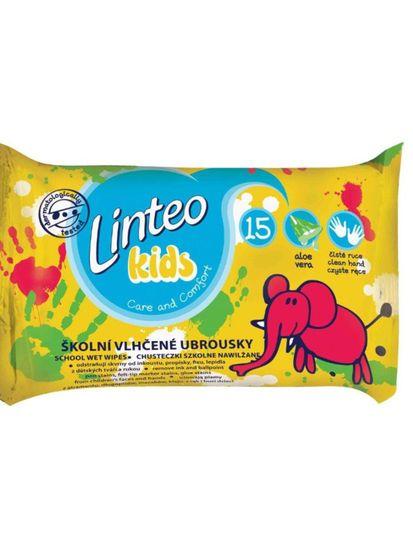 LINTEO Dětské vlhčené ubrousky Linteo Baby Kids 15 ks