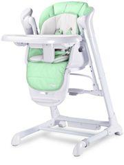 Caretero Dětská jídelní židlička 2v1 Caretero Indigo mint