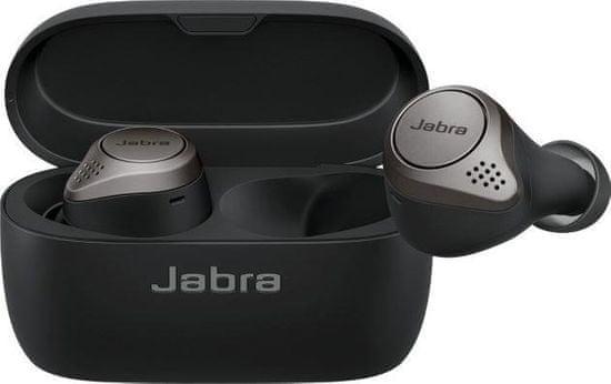 Jabra Elite 75t brezžične slušalke, titan črne