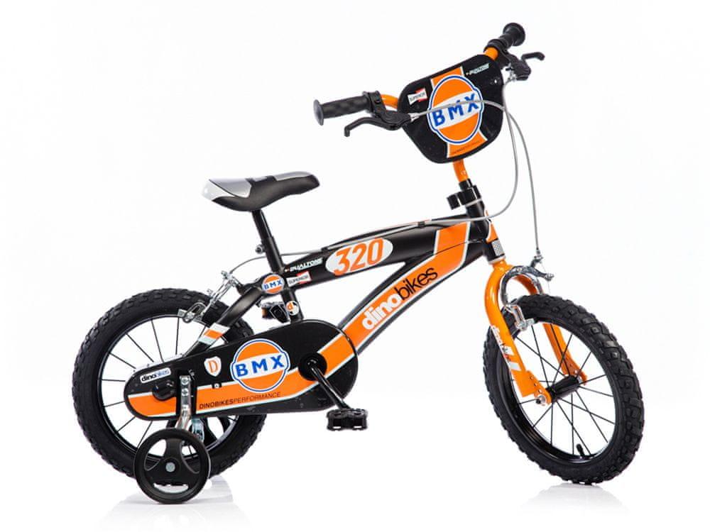 """Dino bikes Chlapecké kolo BMX 14"""" - použité"""