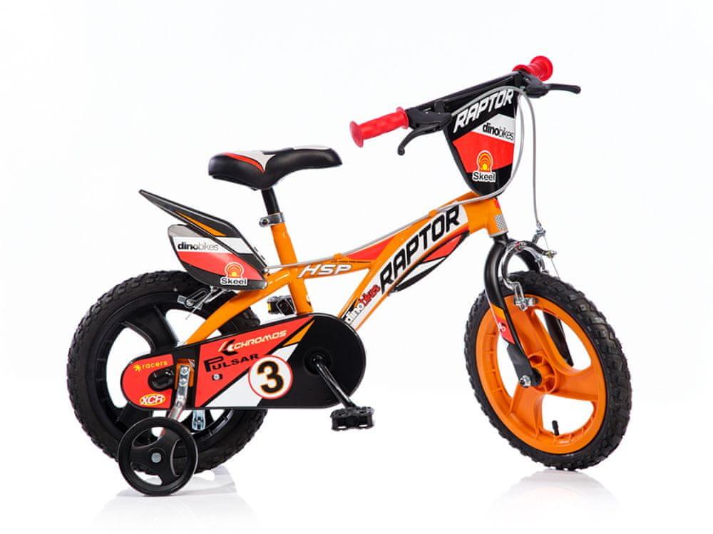 """Dino bikes Chlapecké kolo Raptor 14"""" - použité"""