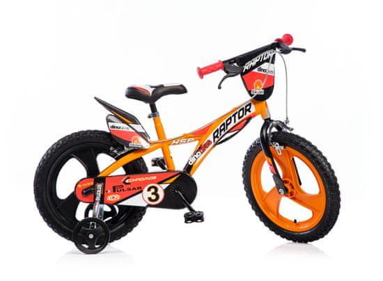 """Dino bikes Chlapecké kolo Raptor 16"""""""