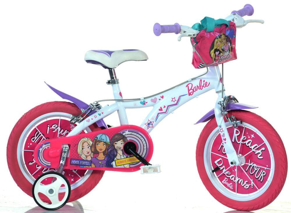 """Dino bikes Dívčí kolo Barbie 14"""""""