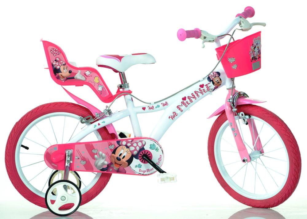 """Dino bikes Dívčí kolo Minnie 14"""" - rozbaleno"""