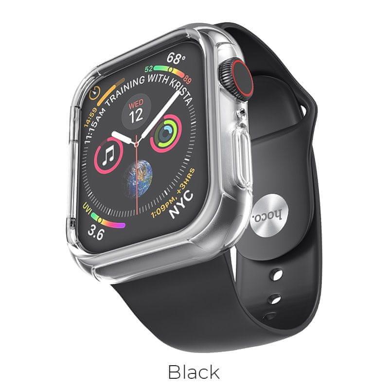 Hoco Gumový náramek Apple Watch (Černý) 38/40mm