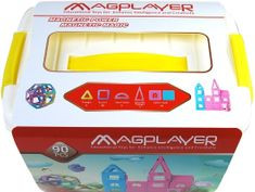 MAGPLAYER Magplayer magnetická stavebnica 90 ks