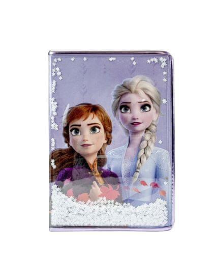 Pyramid Frozen II zvezek A5, Snow Sparkles