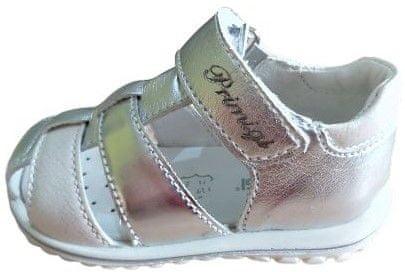 Primigi Dívčí letní obuv 5365555 23 stříbrná