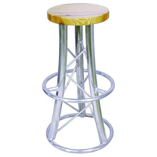 Barová stolička Alutruss, výška 82 cm