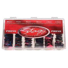 Stagg Sada trsátek , PBOX6, krabice trsátek 600ks