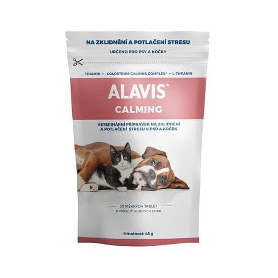Alavis Calmin pre psy a mačky 45g (30tbl)