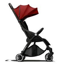 Hamilton športni otroški voziček Hamilton R1 2020, rdeč/Red