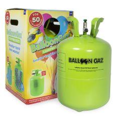 HELIUM DO BALÓNKŮ BALLOONGAZ - jednorázová nádoba 420 l