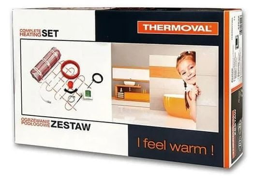 Thermoval grelna preproga 3 m2, 510 W, s Prestige Line Touch Screen termostatom