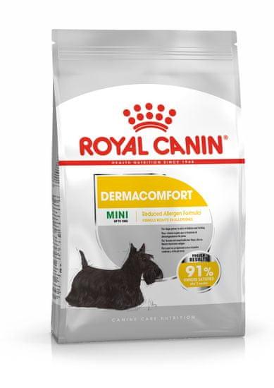 Royal Canin Mini Dermacomfort pasji briketi, 8 kg