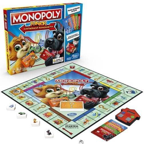 Hasbro Monopoly Junior Electronic Banking CZ