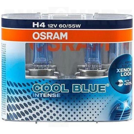 Osram Autožárovky 12V H4 60/55W - Osram Cool Blue Xenon Effect 4200K 2ks