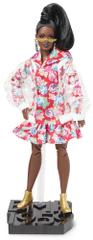 Mattel Barbie BMR1959 Barbie ve vinylovém kabátku módní deluxe