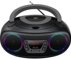 Denver Radiomagnetofon TCL-212, czarny/szary