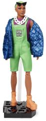 Mattel lutka Barbie BMR1959 Ken z razkošno zelenimi lasmi, deluxe